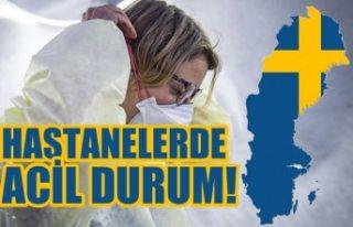 İsveç'te hastaneler acil durum alarmı verdi