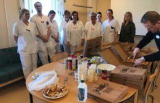 İsveç'te Konyalı pizzacı sağlıkçıların...