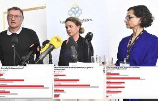İsveç'te koronavirüs konusunda yetkililere...