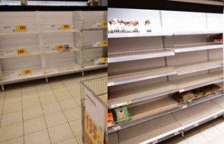 İsveç'te koronavirüs paniği! Market rafları...