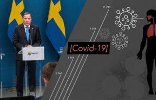 İsveç'te vaka ve ölü sayısı arttı: Başbakan...