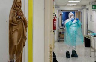 İtalya son 24 saatte 812 kişiyi daha koronavirüsten...
