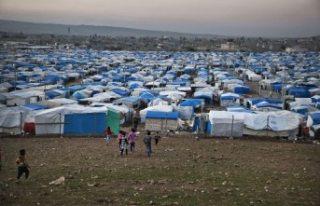 Mülteci kampında koronavirüs