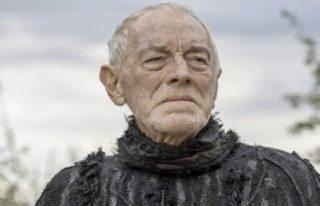 Şeytan filminin rahibi İsveçli oyuncu Max von Sydow...
