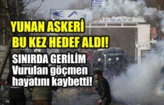 Yunan askeri Suriyeli göçmeni vurarak öldürdü!...