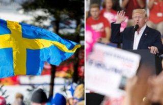 ABD Başkanı Donald Trump'tan İsveçle ilgili...