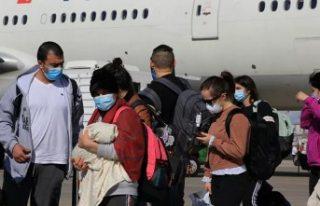 ABD'deki 346 Türk vatandaşı getirildi