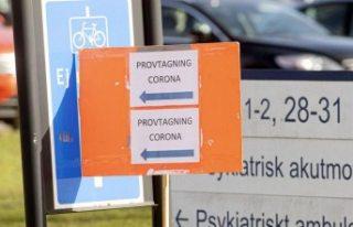 Başkent Stockholm'de koronavirüs nedeniyle...