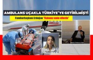 Cumhurbaşkanı Erdoğan ile Leyla'nın telefon...