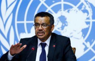 Dünya Sağlık Örgütü Direktörü Ghebreyesus:...