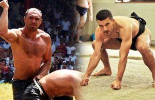 Futbolcu Lukas Podolski, Kırkpınar başpehlivanı...