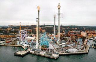 Gröna Lund ve diğer büyük parklar 6 Hazirana kapalı...