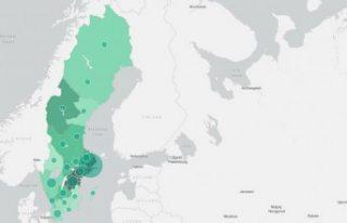 İsveç'te vaka sayısı 6 bini, ölü sayısı...