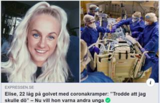 Korona hastası 22 yaşındaki Norveçli: ''Öleceğim...