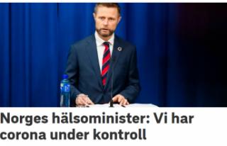 Korona virüsü Norveç'te kontrol altına alındı