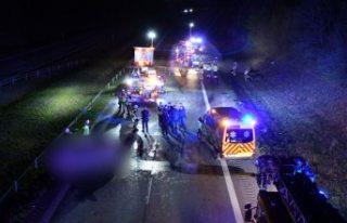 Malmö'de ters yöne giren sürücü feci kazaya...