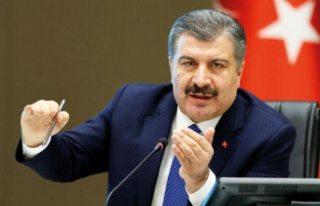 """Sağlık Bakanı Fahrettin Koca: """"İyileşen..."""