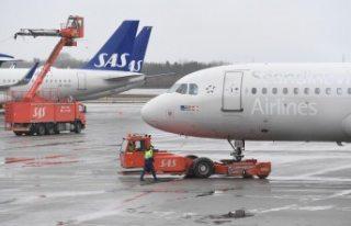 SAS Landvetter havalimanından uçuşlarını durdurdu