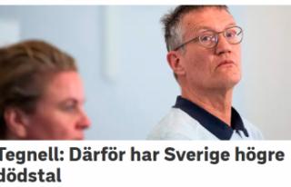 Tengell, İsveç'te ölümlerin neden fazla olduğunu...