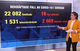 16 kişinin daha hayatını kaybettiği İsveç'te...