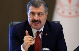 Bakan Koca Türkiye'deki ölüm oranlarını...