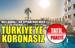 Corendon, Türkiye'ye koronasız tatil paketi...