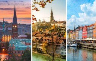 Dünyanın en yaşanabilir şehirlerinde buz yaz tatil...