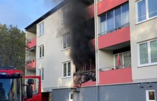Eskilstuna'da bir eve molotoflu saldırı