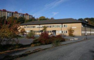Göteborg'da bir okulu su bastı