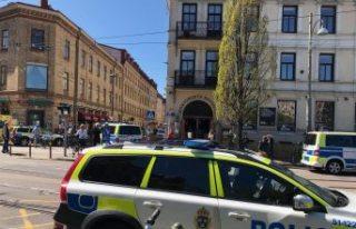 Göteborg'daki bir Pub'da bıçaklı saldırı