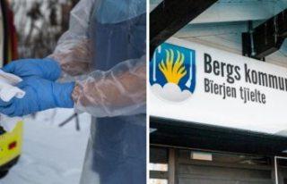 İsveç'in kuzeyindeki belediye yaşlı bakımevi...