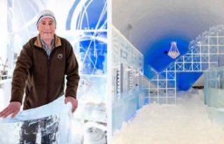 İsveç'in buz oteli 30 yıldan sonra ilk kez...