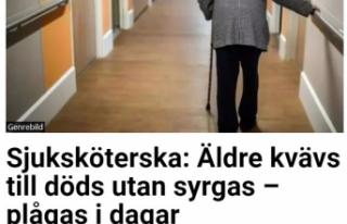 İsveç'te bazı huzurevlerinde Kovid-19 hastası...