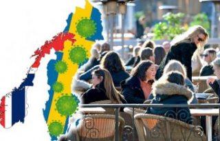 İsveç'teki Covid-19 kaynaklı ölüm oranı,...