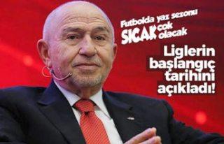 Nihat Özdemir Süper Lig'in başlangıç tarihini...