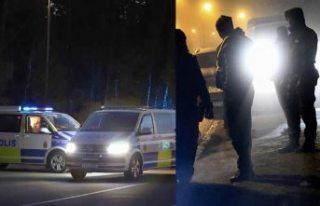 Stockholm'de hareketli gece: Haninge ve Alby'de...