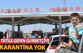 Türkiye'ye yaz tatiline gideceklere karantina...
