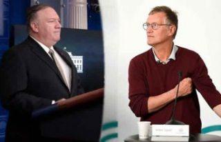 Tegnell: Pompeo'nun iddiasına gerçekliği yok...
