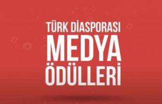 """YTB'den """"Türk Diasporası Medya Ödülleri""""..."""