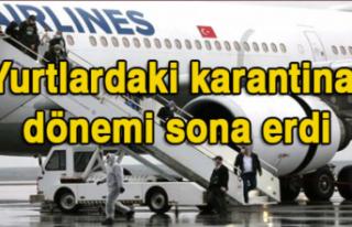 Yurt dışından Türkiye'ye gidenler 14 günlük...