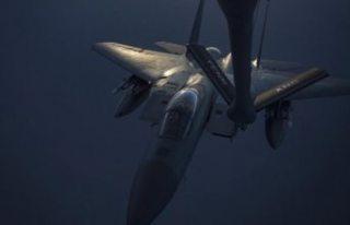 ABD savaş uçağı Kuzey Denizi'ne düştü,...