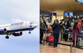 Arlanda Havalimanında SunExpress - Konya uçuşu...