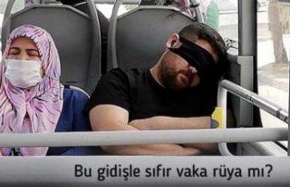 Bakan Fahrettin Koca'dan esprili maske uyarısı:...