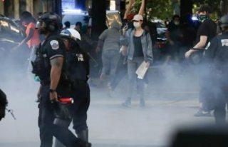 Beyaz Saray önünde çatışmalar yaşandı