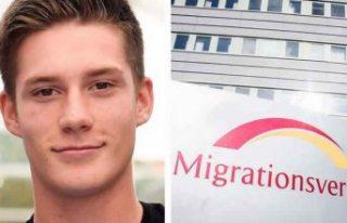 İsveç'te göçmen kadına yardım eden genç...