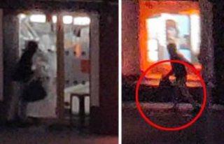 İsveç'te gözlükçüye giren hırsızlar kameralara...