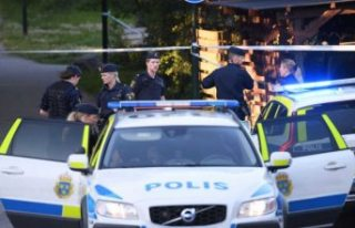 Älvsjö'de silahlı saldırıya uğrayan kişi...
