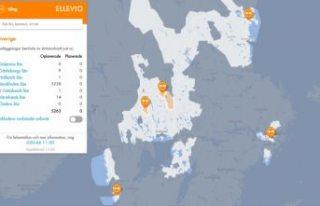 Stockholm'de elektik kesintisi 5 binden fazla...