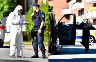 Stockholm'de bir kişi polis tarafından öldürüldü