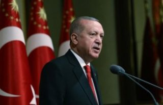 Cumhurbaşkanı Erdoğan'dan Beştepe'de...